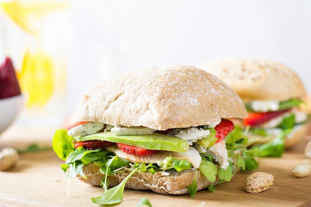 Lunchtip: avocado op brood // Ciabatta met avocado