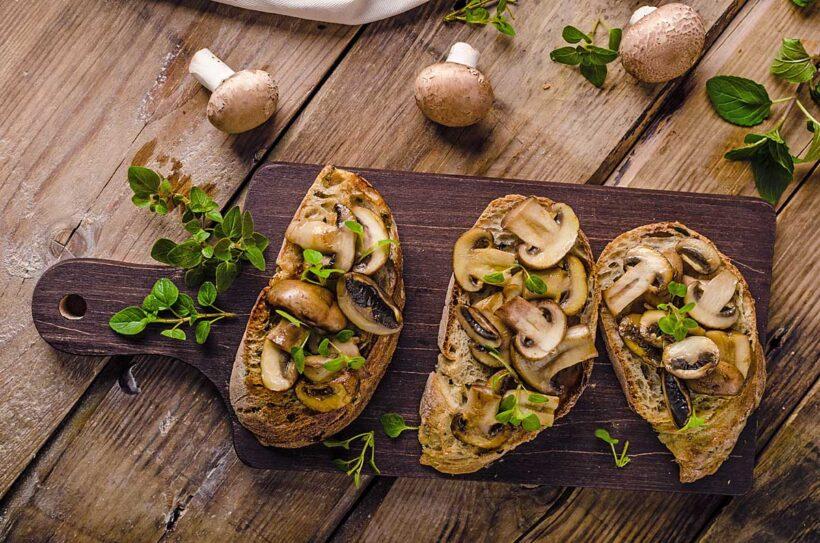 Lunchtip: Champignons op toast
