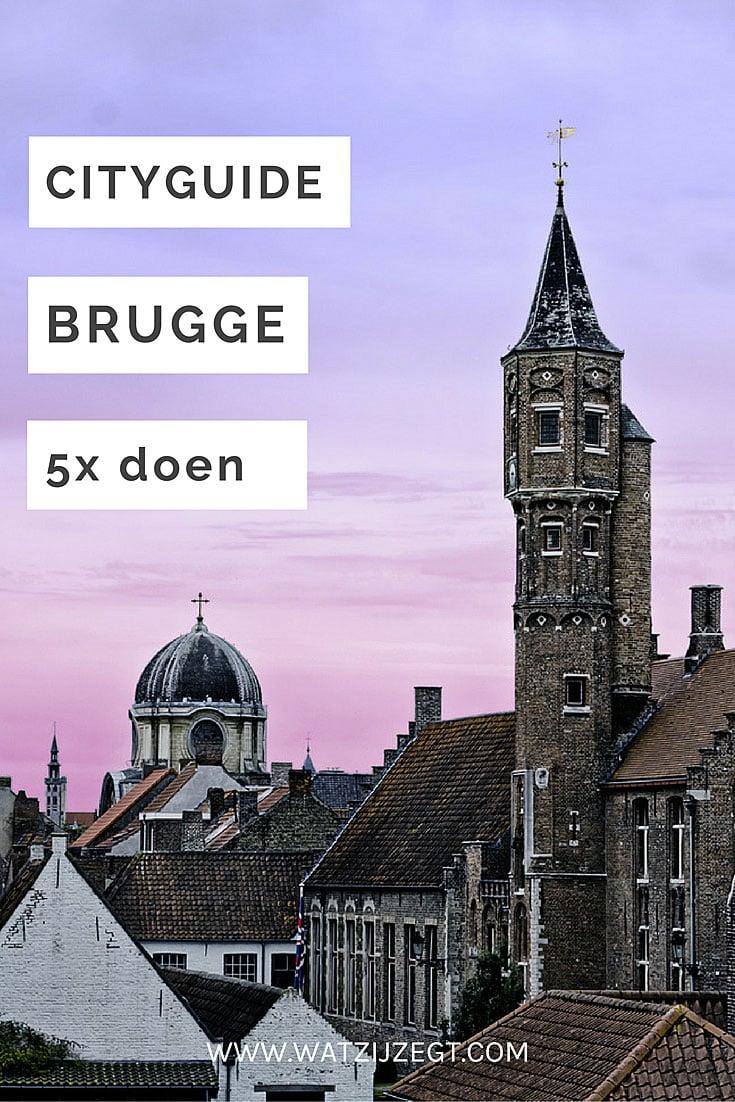 Brugge stedentrip // 5x doen in Brugge, België // 5 to do