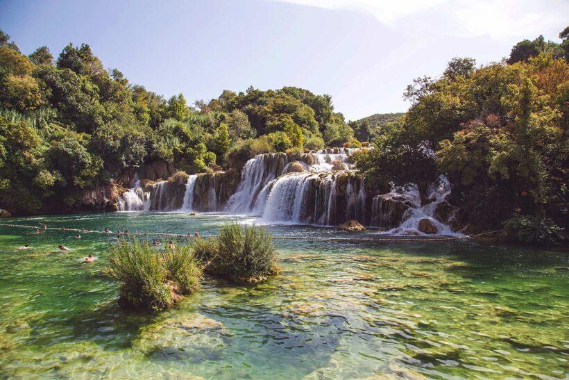 Krka National Park Kroatië (Photo by Milada Vigerova/ Unsplash)