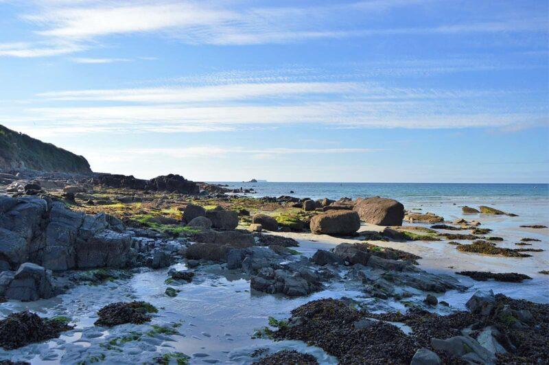 Nazomeren in Bretagne, West-Frankrijk