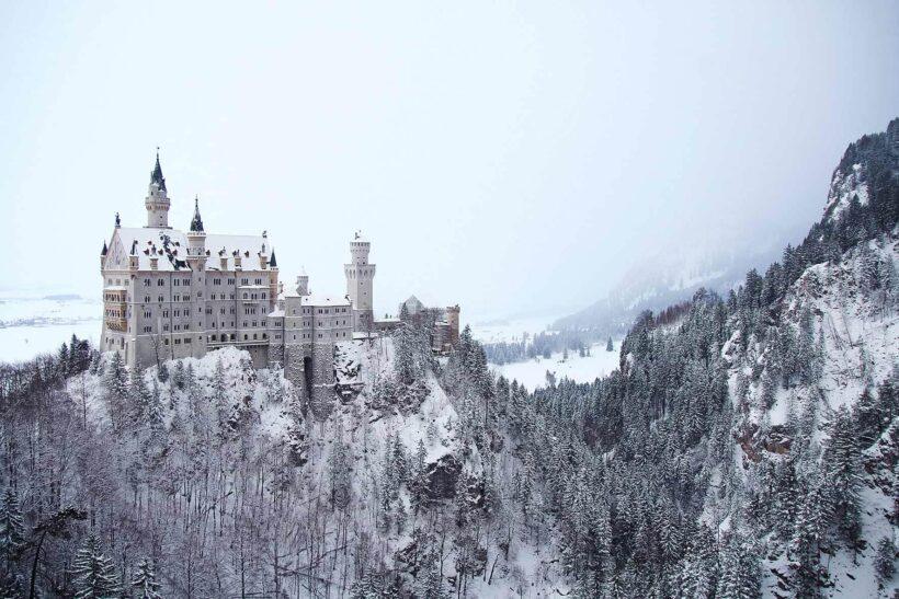 Sprookjeskasteel Neuschwanstein in Bavaria, Duitsland