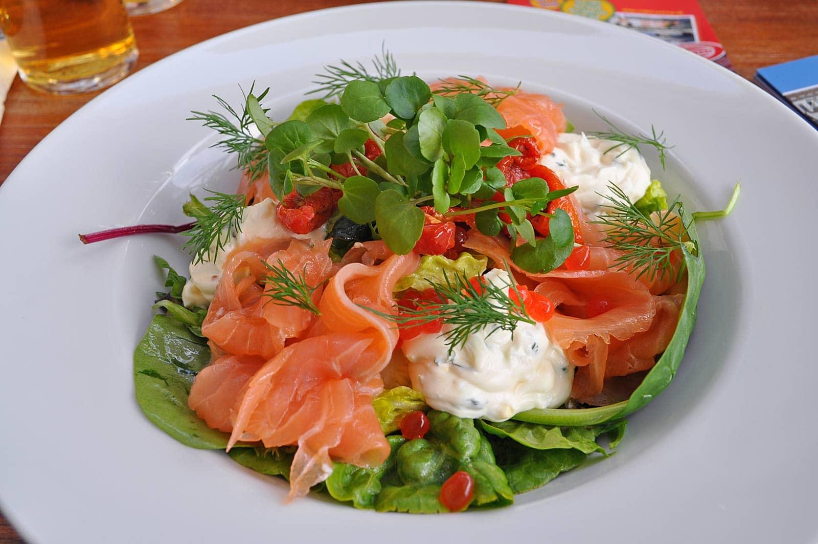 Lunchen bij Nyhavn 17 in Kopenhagen