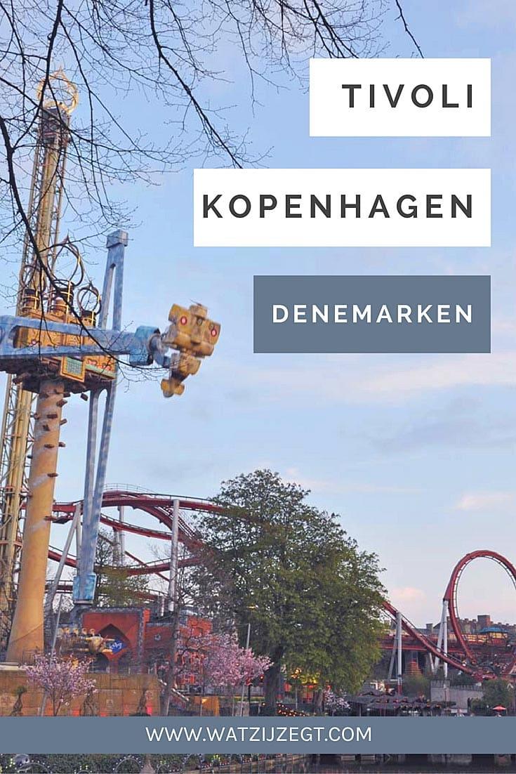 Travelspot: Pretpark Tivoli in Kopenhagen, Denemarken