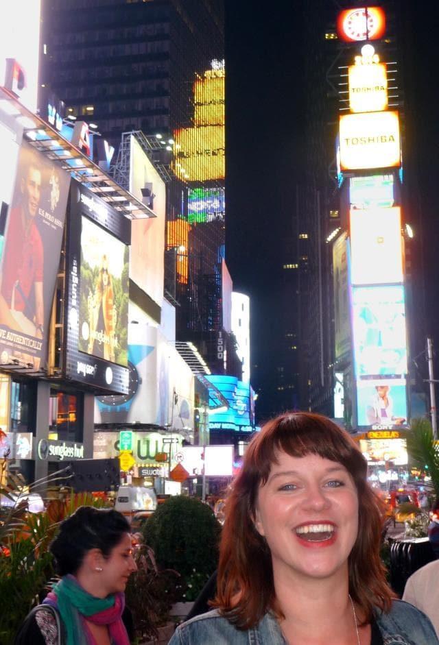 New York City: de verplichte foto op Times Square!