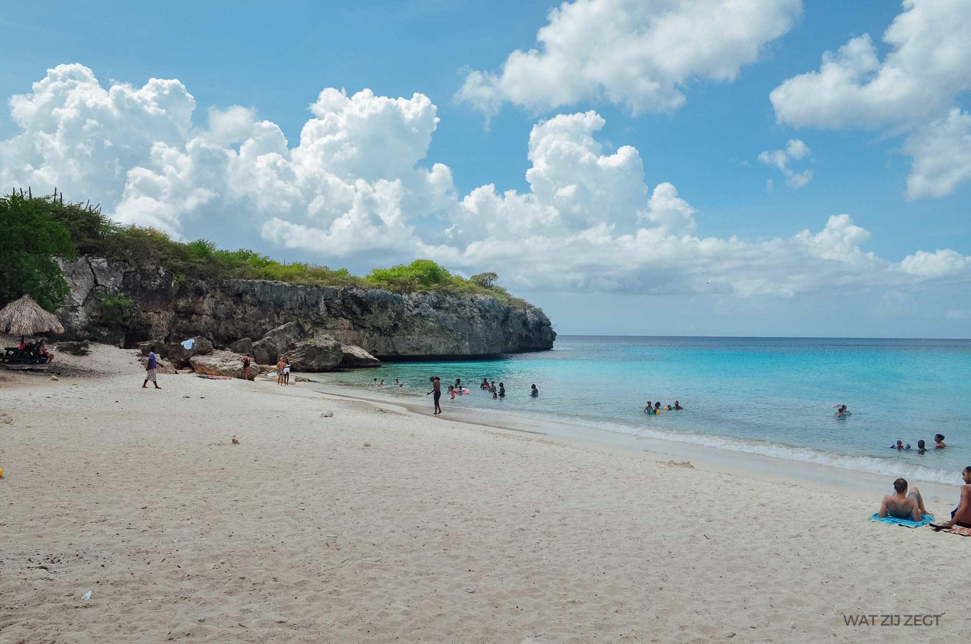 Blauw Curaçao Kleine Knip (Kenepa)