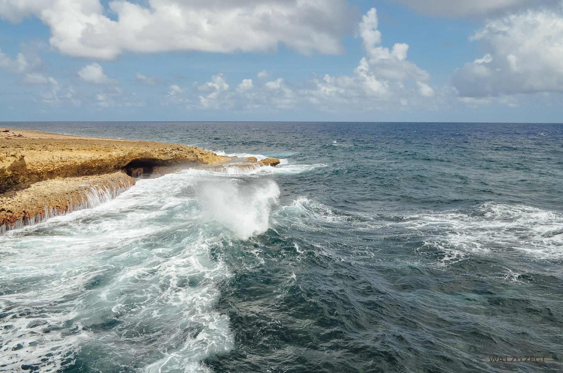 Blauw Curaçao Shete Boka