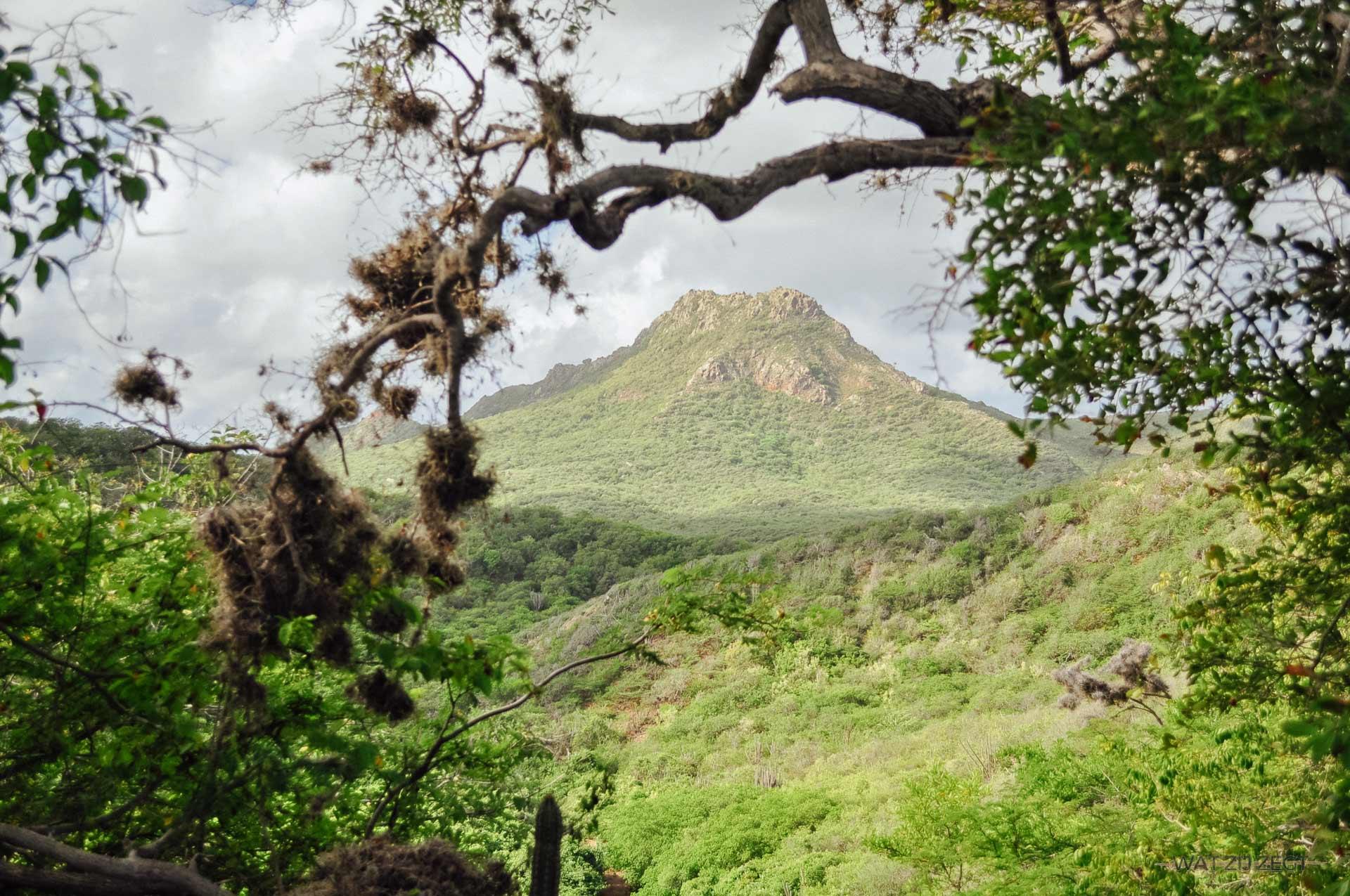 Blauw en groen van Curaçao - Christoffelberg
