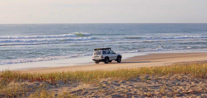 Ultieme jeep safari Fraser Island, Australië
