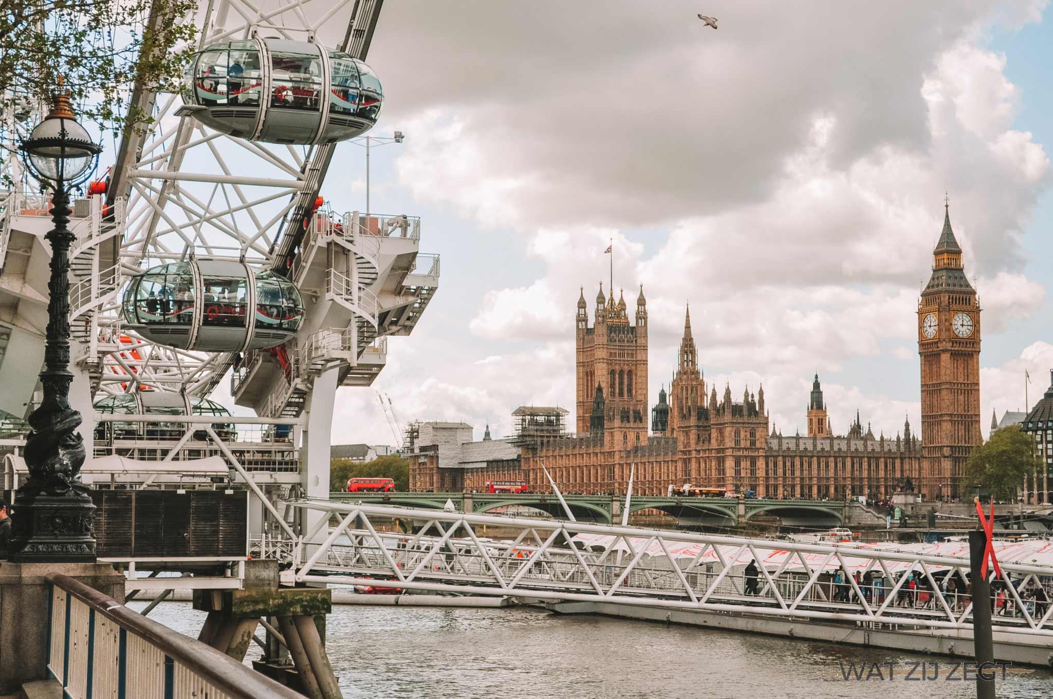 3 dagen in londen: Londen Bankside