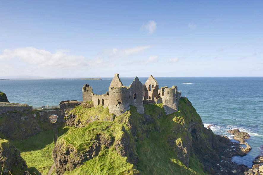 Dunluce Castle - 7x de mooiste kastelen in Ierland