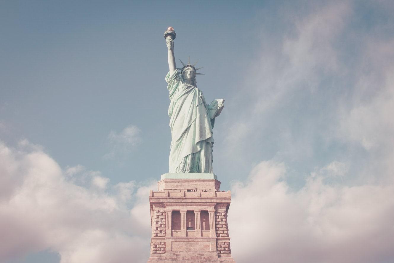 Vrijheidsbeeld, NYC, USA