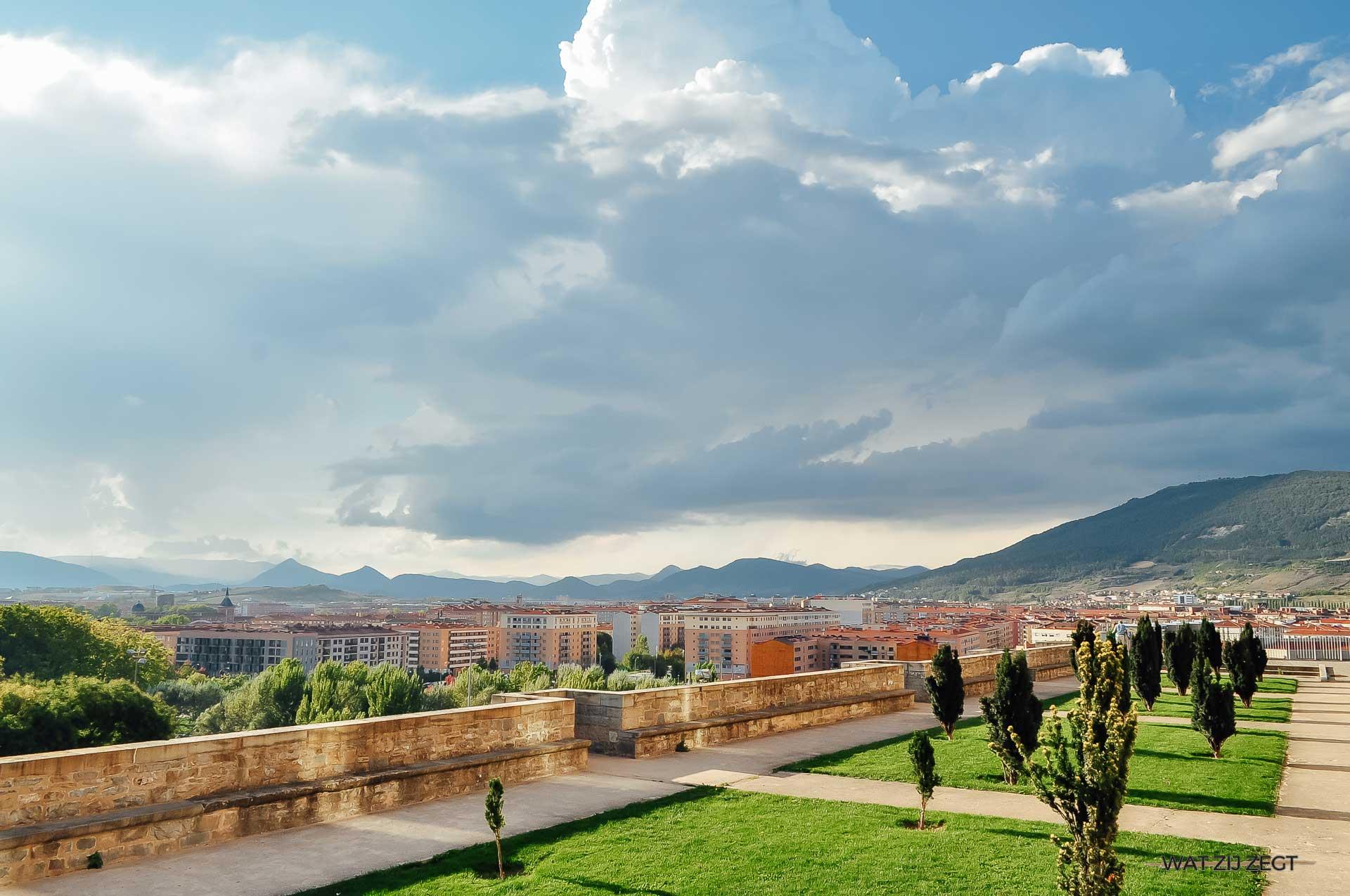 Pamplona ligt in Spaans Navarra: land van uitersten
