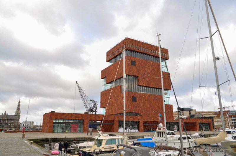 Museum aan de Stroom (MAS) in Antwerpen