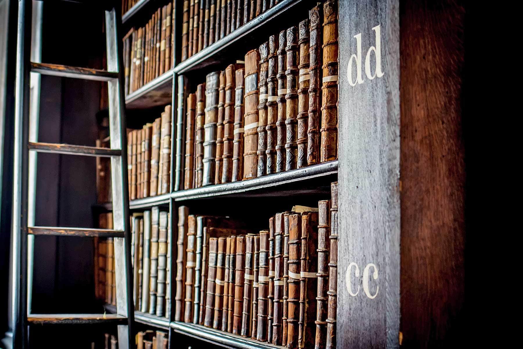 Gratis doen in Dublin: bezoek de Long Room in Trinity College
