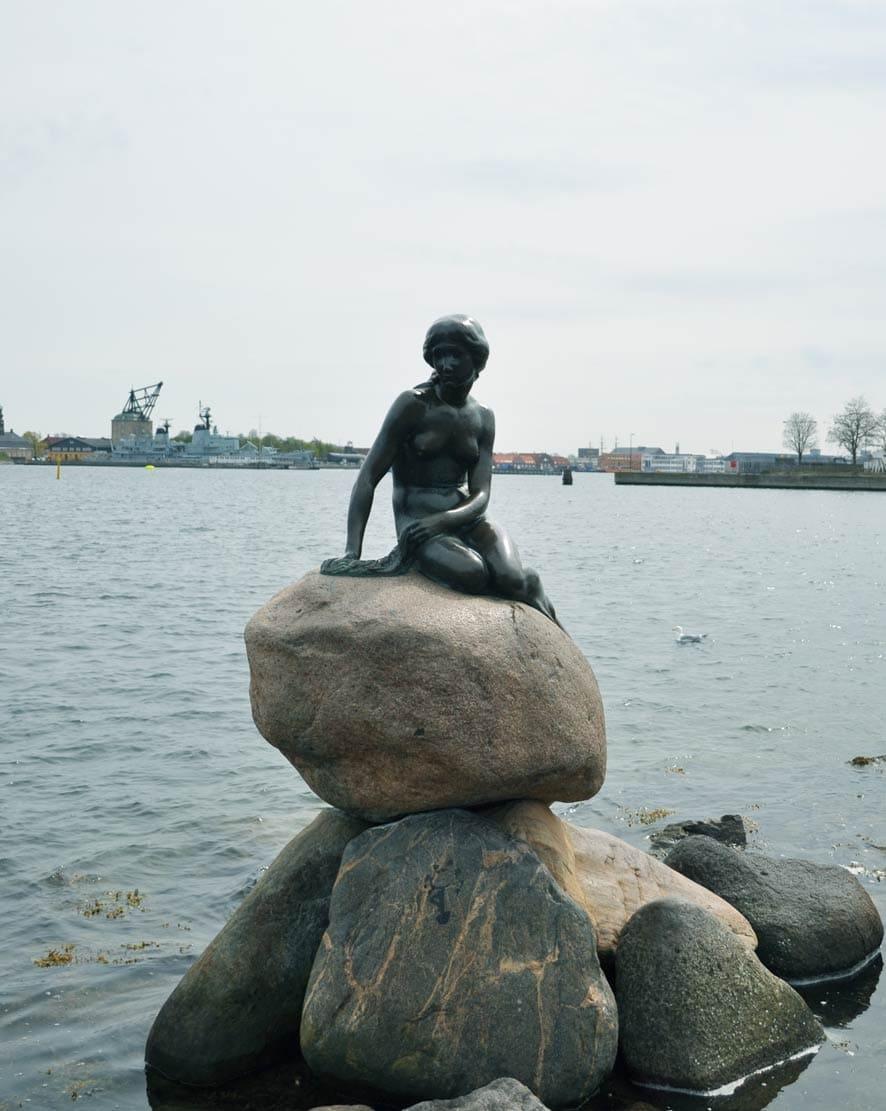 Gratis doen in Kopenhagen: breng een bezoek aan de Kleine Zeemeermin in Kopenhagen