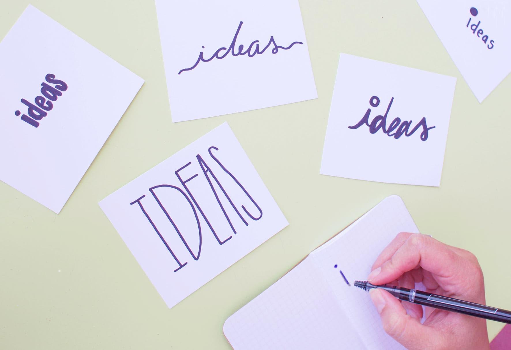 Over originele ideeën en in herhaling vallen