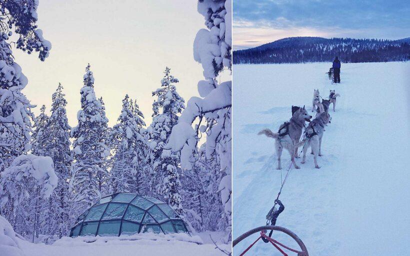 Waarom een huskytocht in Lapland toffer is dan slapen in een glazen iglo