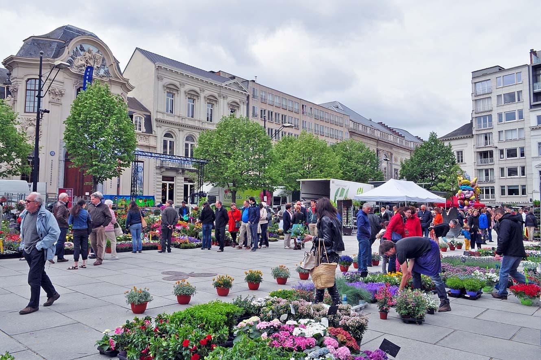 Wat te doen in Gent: Kouter in Gent, ook wel bekend als de Paardenmarkt