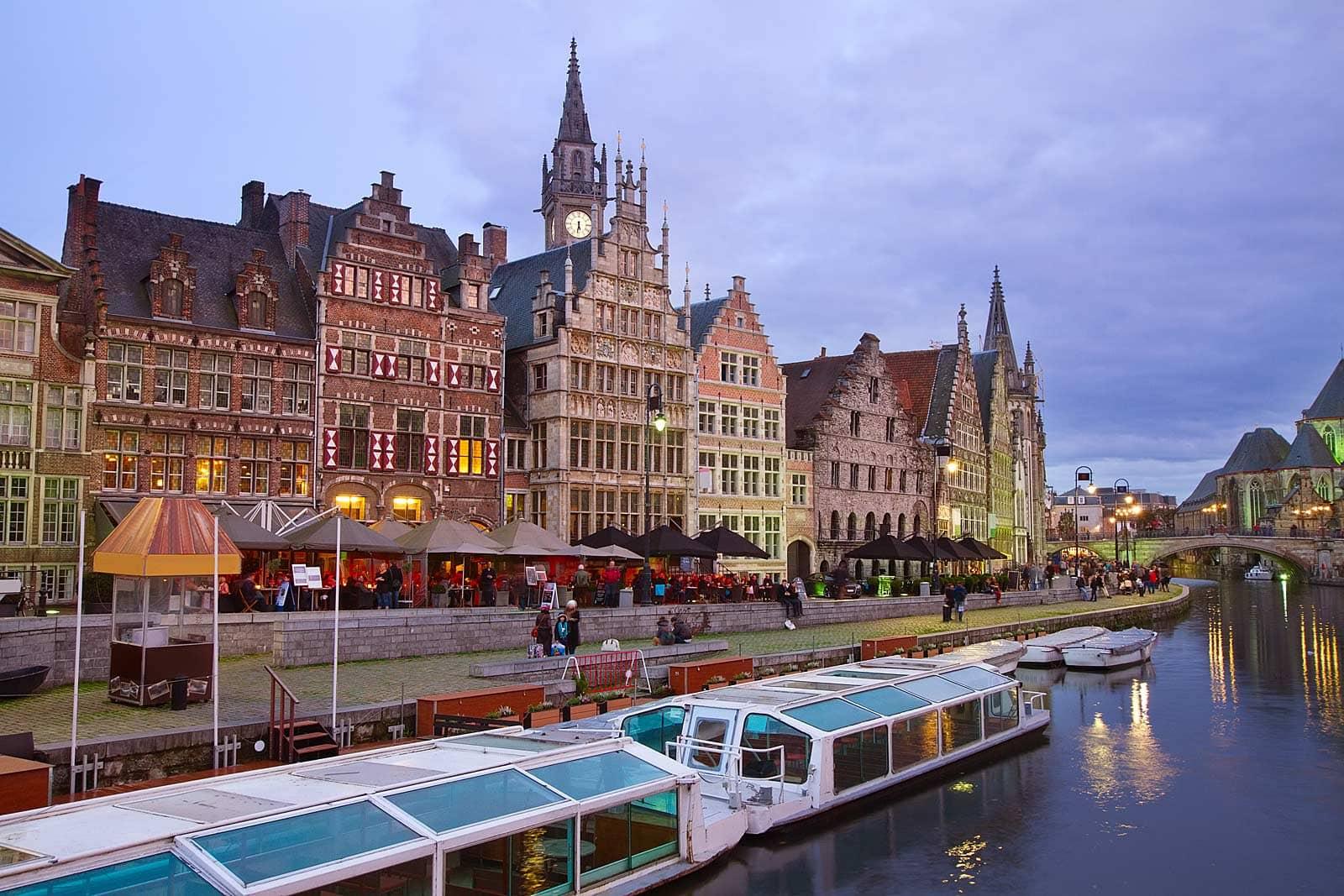 Wat te doen in Gent: Het water op in Gent