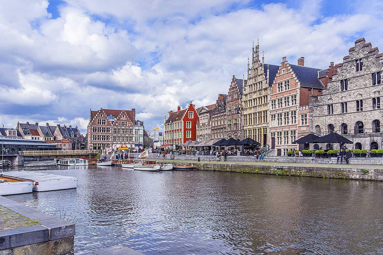 Verken de binnenstad van Gent