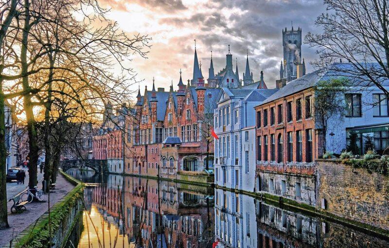 Brugge in het najaar