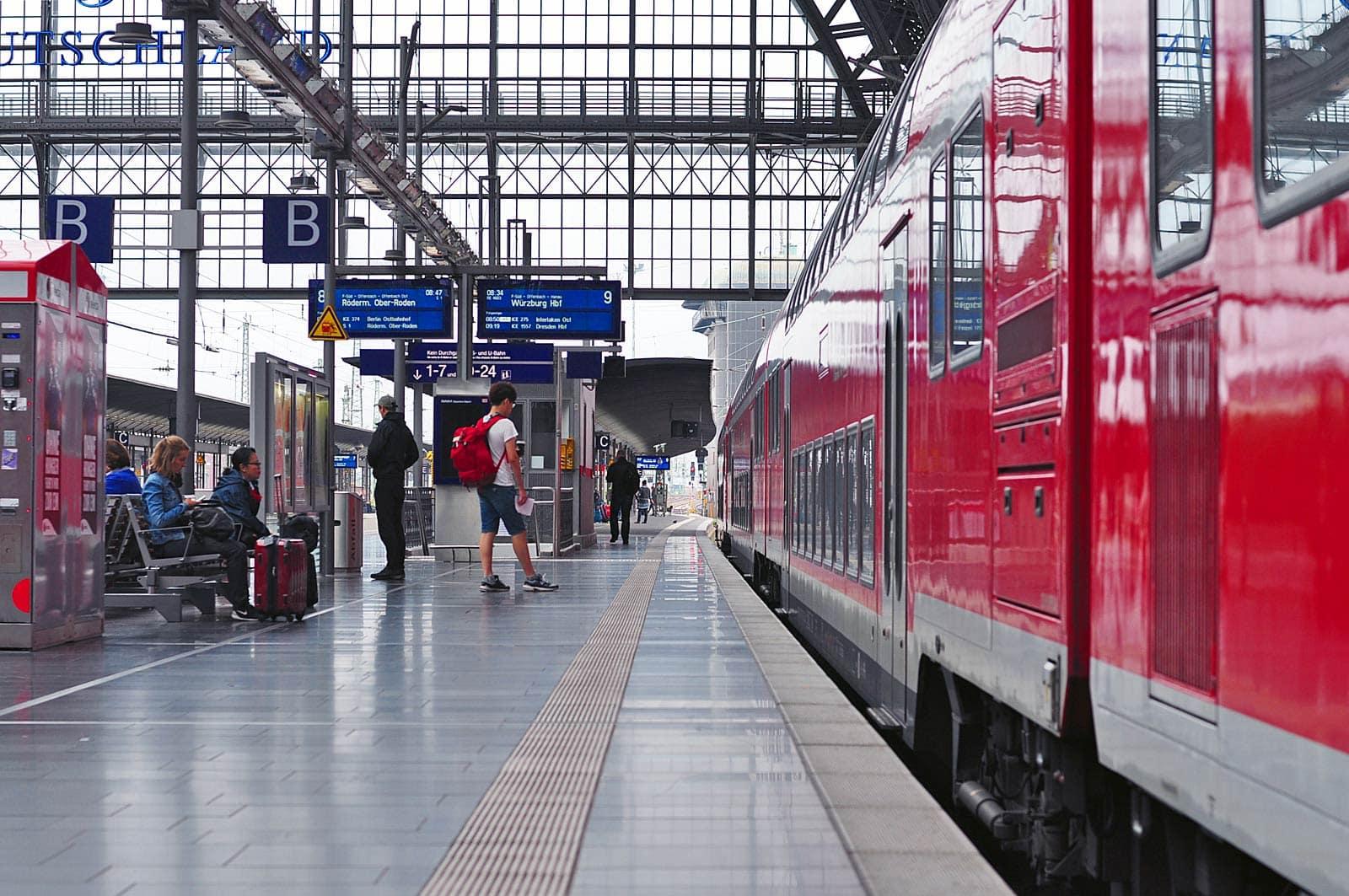 Met de trein door Duitstalig Europa