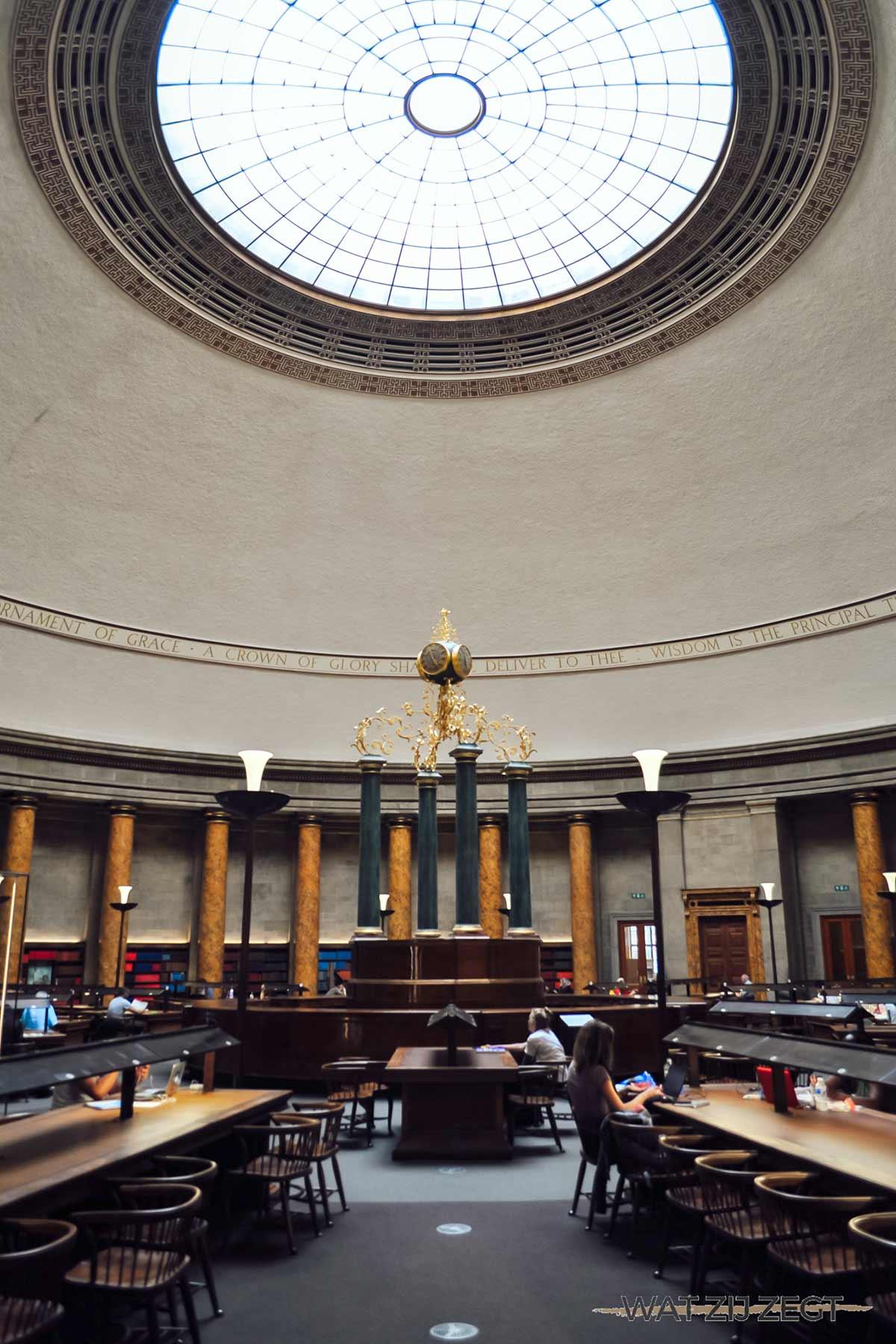 Manchester's Central Library is een bezoekje waard