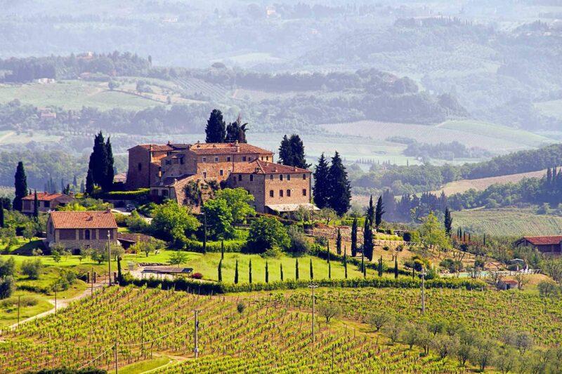 Toscane moet je zeker bezoeken in het najaar