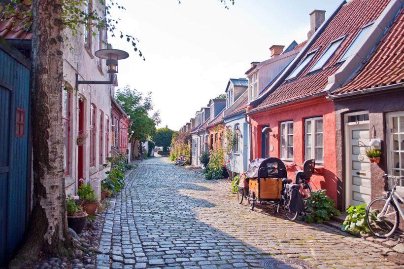 Mollestien: het mooiste straatje van Aarhus