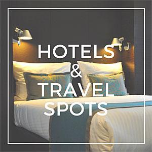 Hotels & travelspots op Wat zij zegt