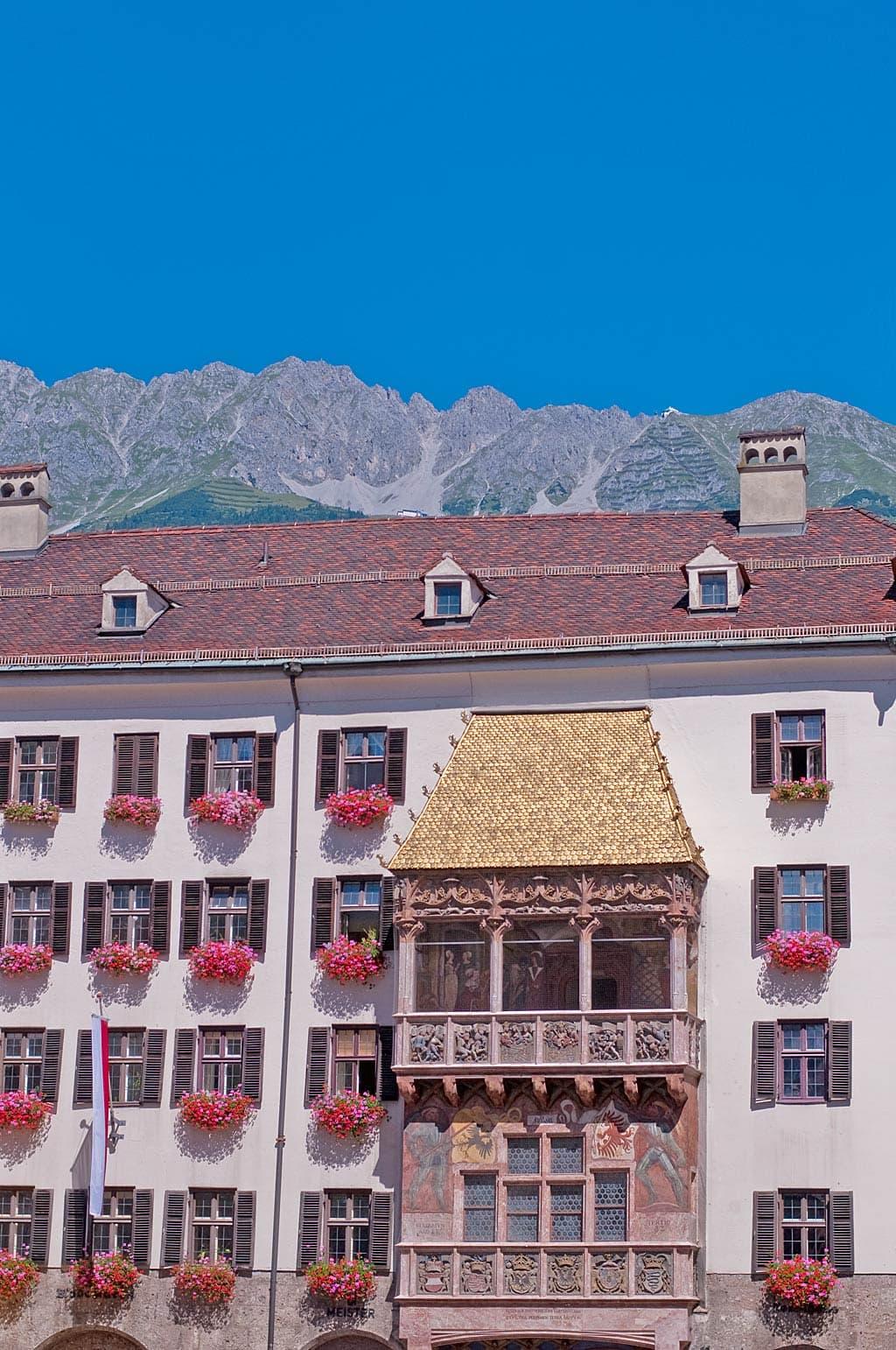 Innsbruck's beroemde Goldenes Dachl