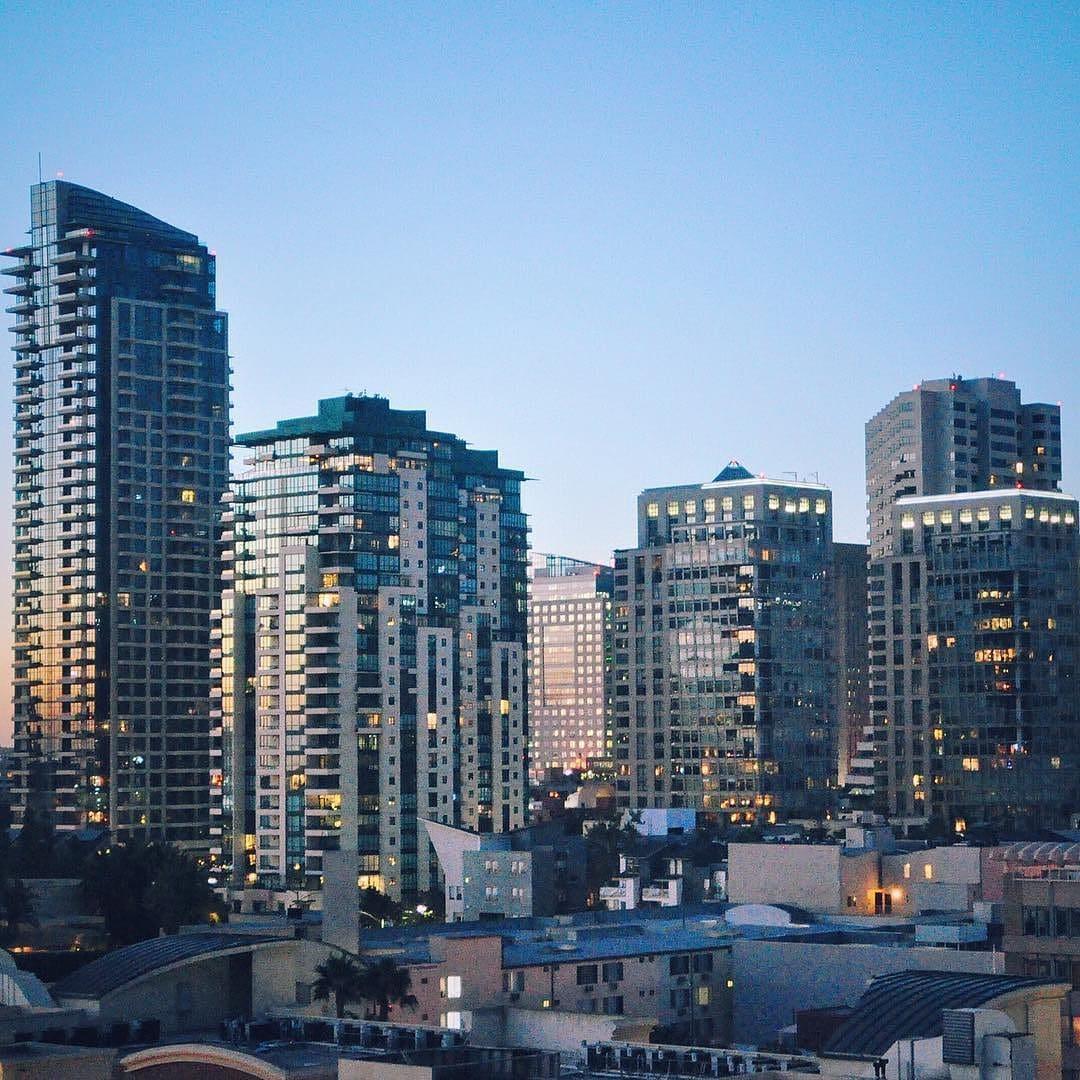 Downtown San Diego heeft een indrukwekkende skyline