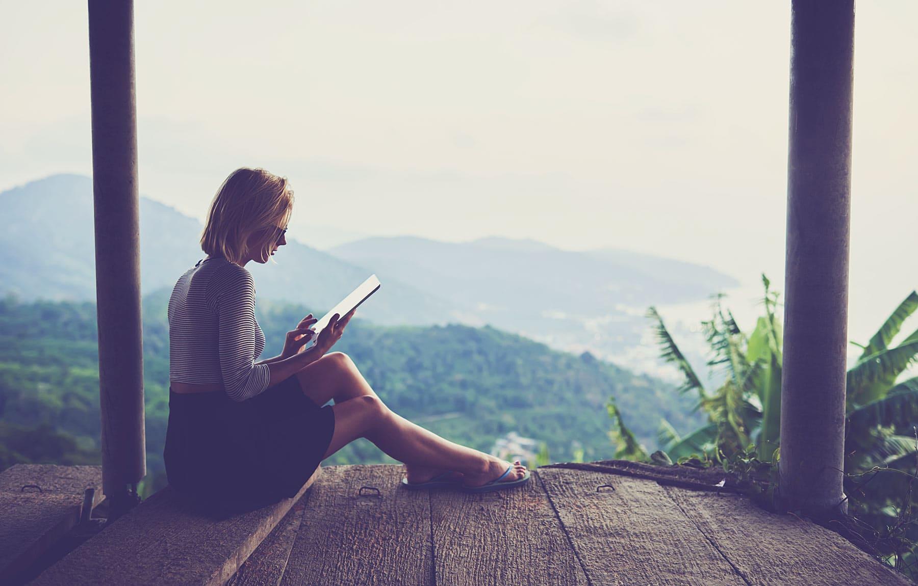 Millennial Travel Report: Technologie: voor, tijdens en na de vakantie
