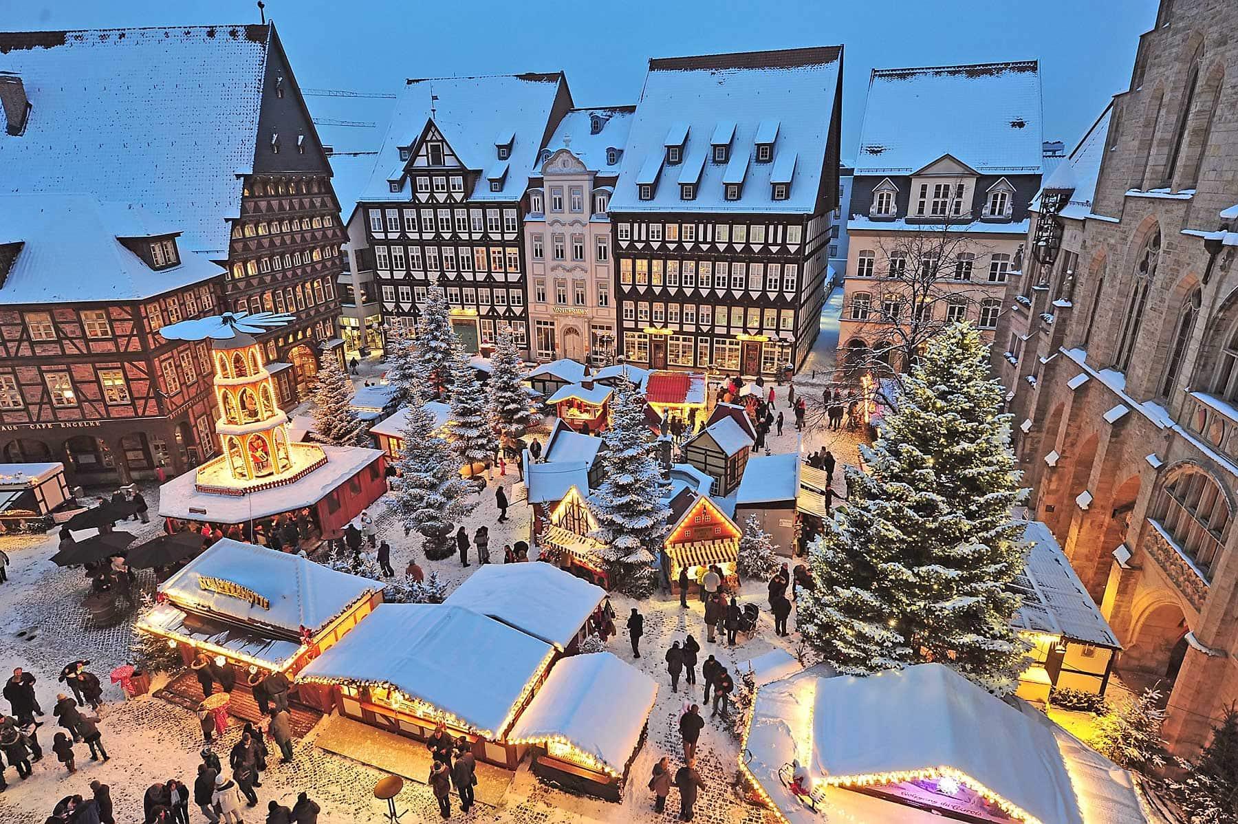 Kerstmarkt in Hildesheim | foto door Van der Valk