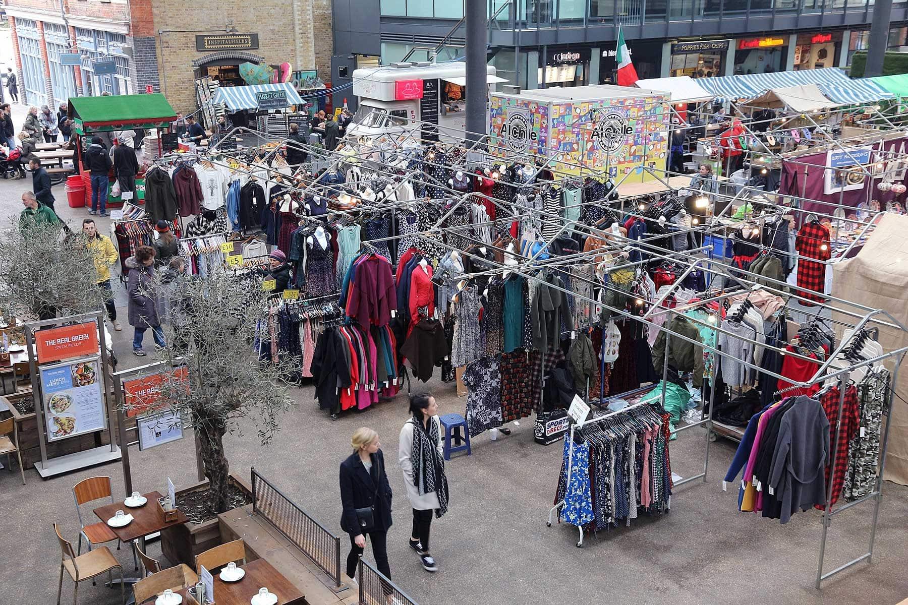 Old Spitalfields Market in London. Photo by Tupungato / Shutterstock.com