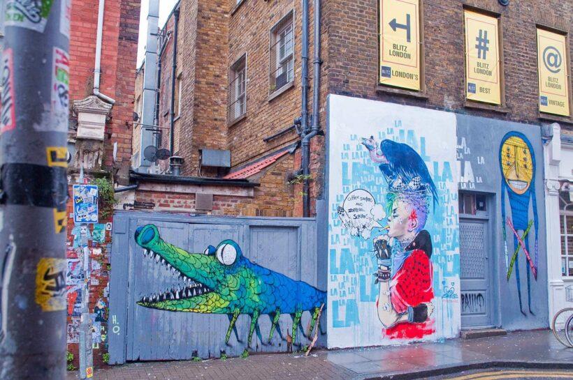 Street art in Shoreditch | London