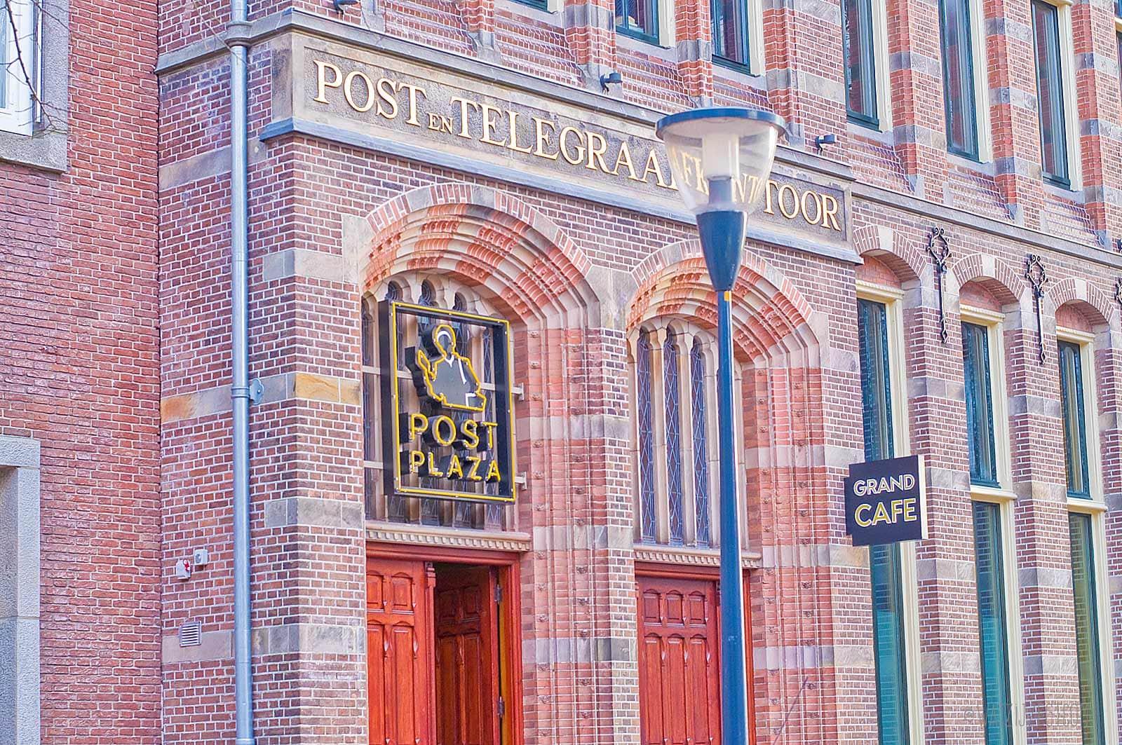 Post-Plaza Grand Café en Hotel in Leeuwarden