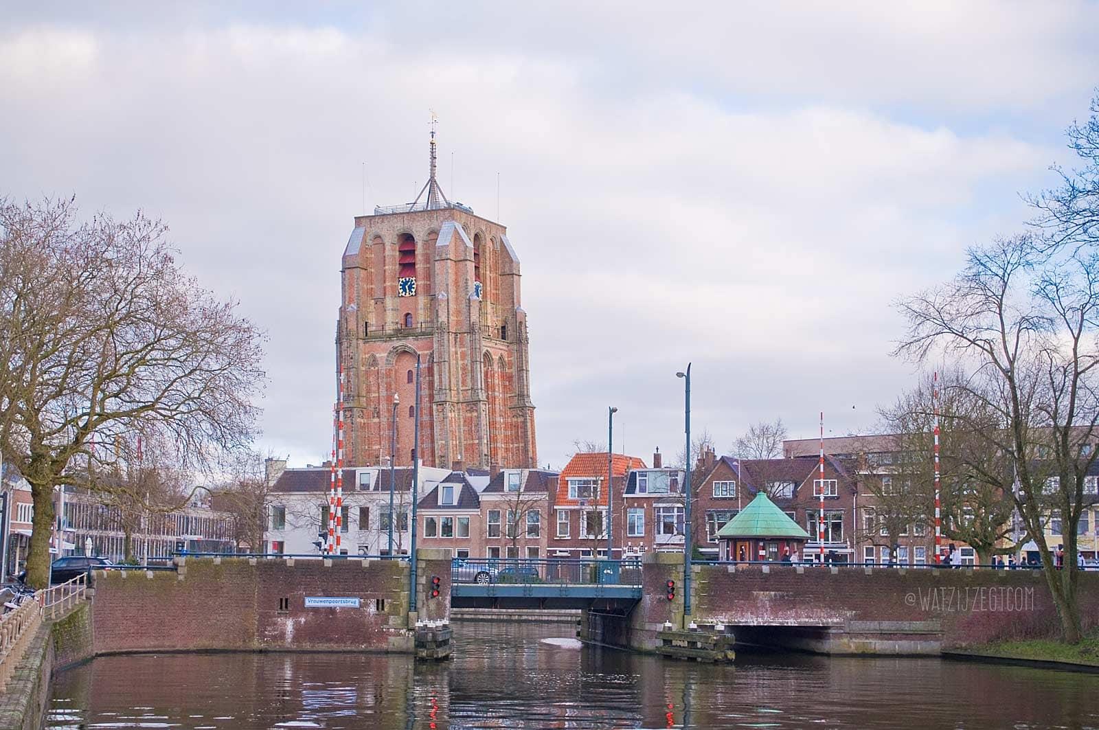 De Scheve Toren van Leeuwarden: de Oldehove