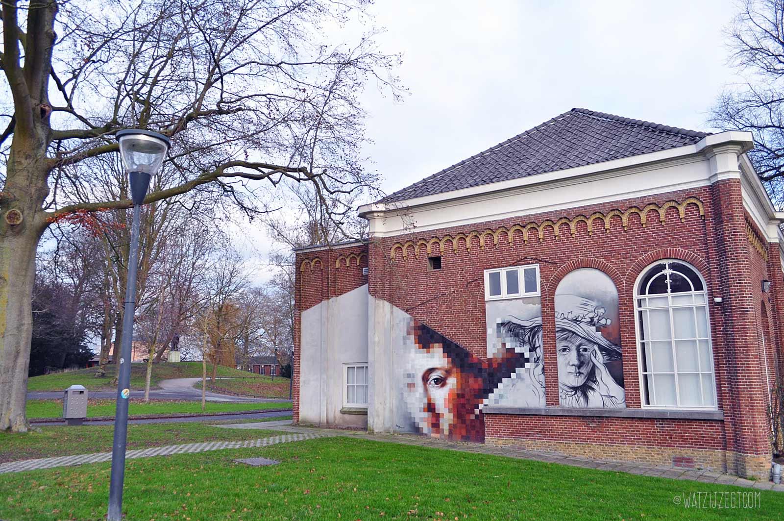 Street art in Leeuwarden