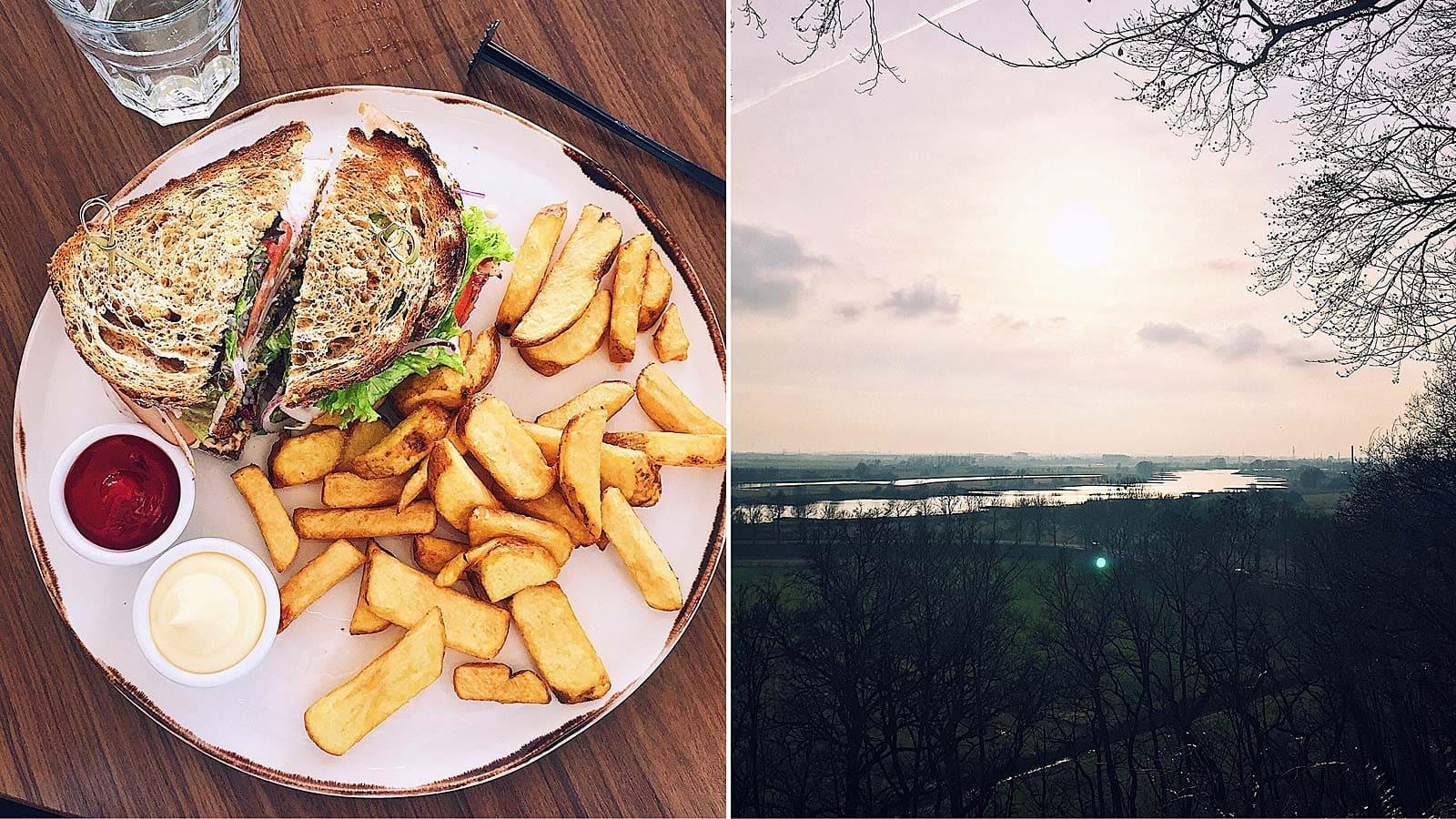 Lunchen en wandelen bij Hotel de Wageningsche Berg