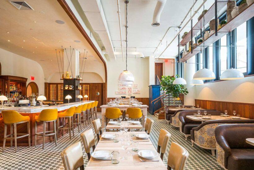 Dineren bij sterren-chefs in New York City: Andrew Carmellini voor Leuca in het nieuwe William Vale Hotel