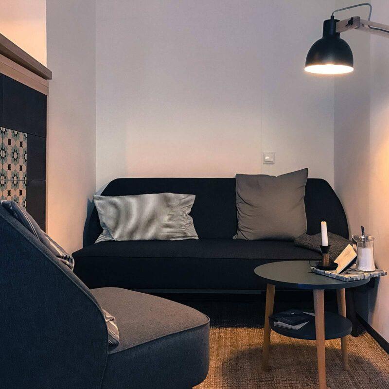 huiskamercafé Düsselmaier in de Grünberger strasse