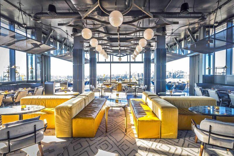 Dineren bij sterren-chefs in New York City: Andrew Carmellini voor Westlight in het nieuwe William Vale Hotel