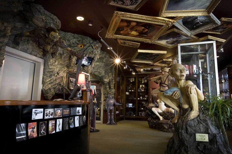 Een must voor Hobbit-fans: Weta Cave Workshop tour, Wellington