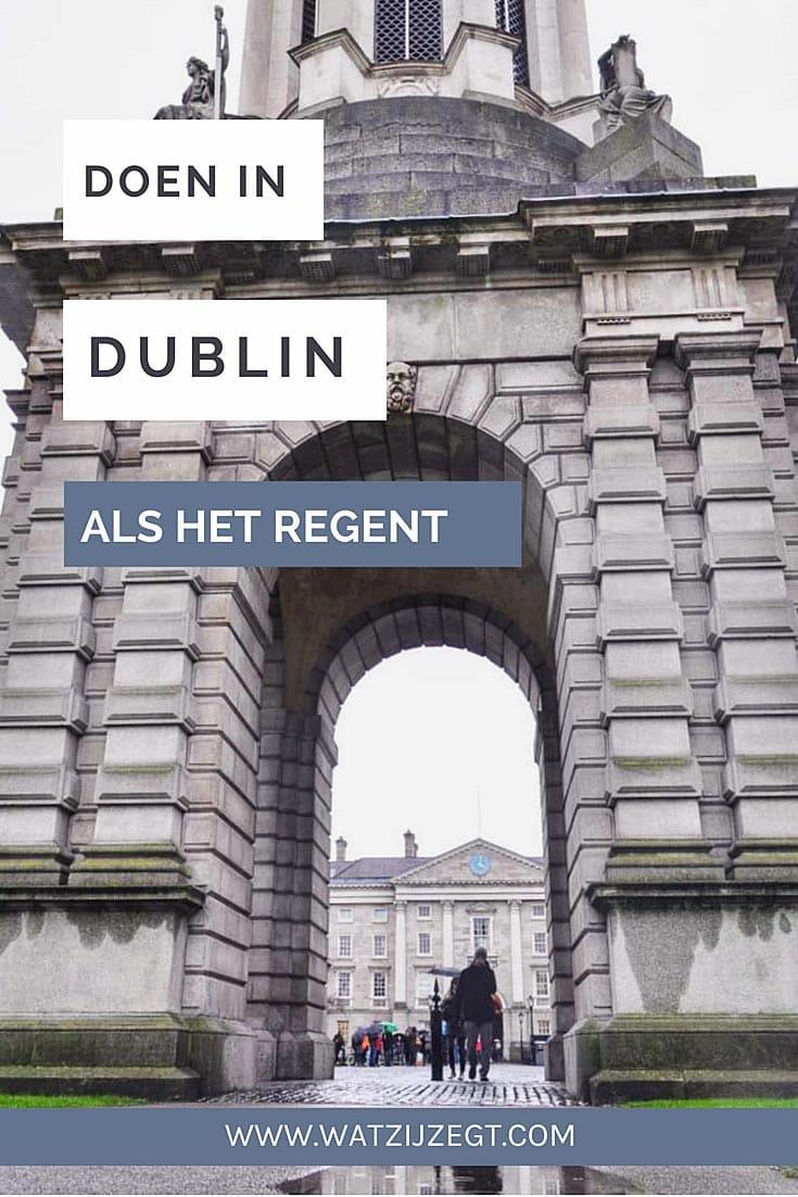 Wat te doen in Dublin als het regent: 8 tips