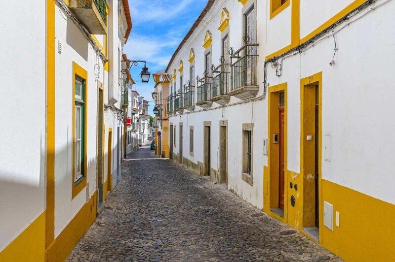Evora in Alentejo, Portugal