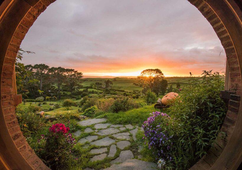Zo reis je door Nieuw-Zeeland als een Hobbit: op de set in Hobbiton
