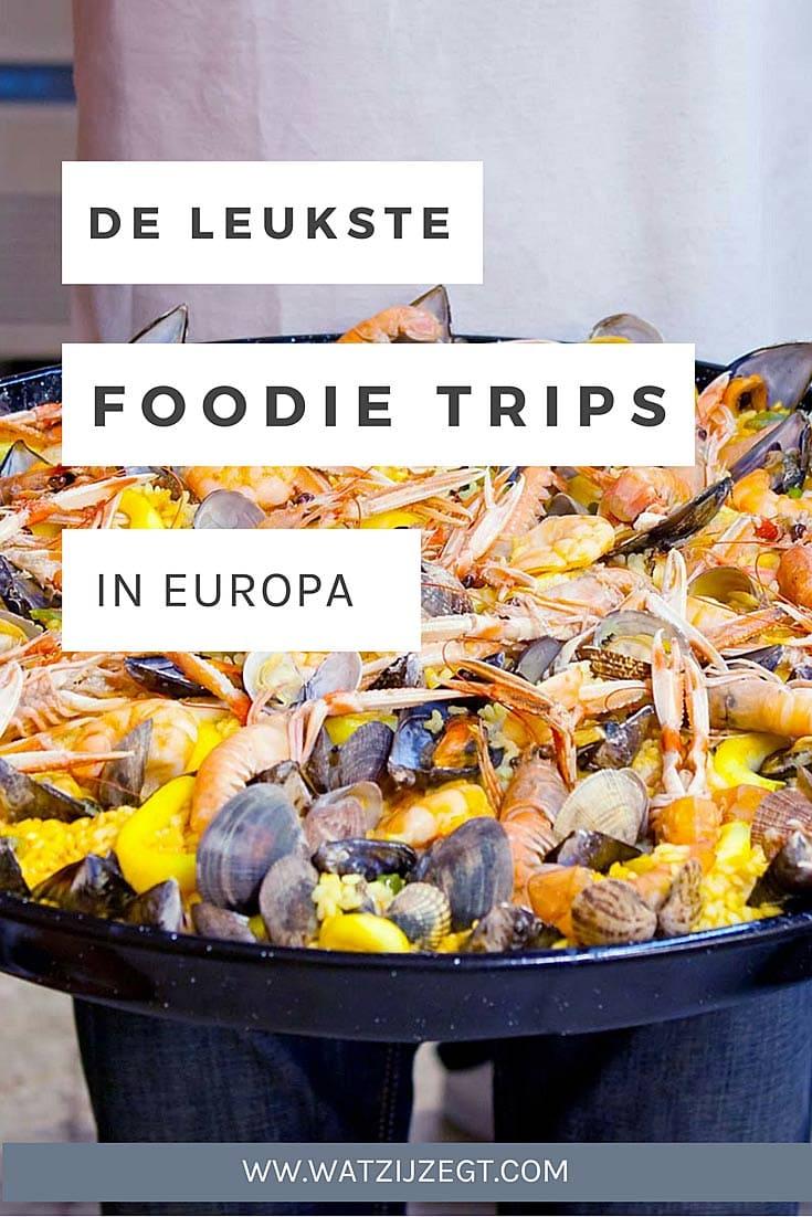 EUROPA // De leukste steden voor een foodie trip