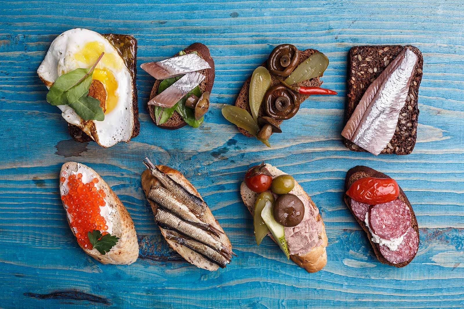 Traditioneel eten in Denemarken: de lekkerste lunchspot voor smørrebrød